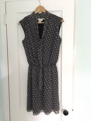 Max Studio Dress, Small, Dark Blue w. White Polka Dots - Office Dress! - $7 for Sale in Alexandria, VA