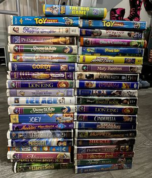 Disney VHS Kids Classic Movies Collection for Sale in Miami, FL