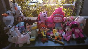 Dolls Stuffies no delivery pick up only for Sale in Pico Rivera, CA