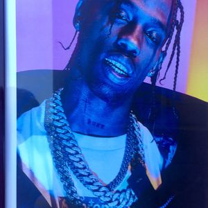Travis Scott Print And Poster In Glass Frame for Sale in La Puente, CA