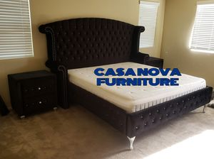 BRAND NEW BED FRAME QUEEN COMES IN BOX WITH MATTRESS INCLUDED $799📢📢📢📢📢AVAILABLE FOR SAME DAY DELIVERY OR PICK UP for Sale in Compton, CA