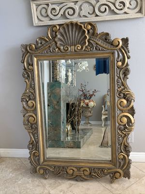 "Gorgeous mirrors with lots of detail. Grate for enter way 62""x40"" for Sale in Laguna Niguel, CA"