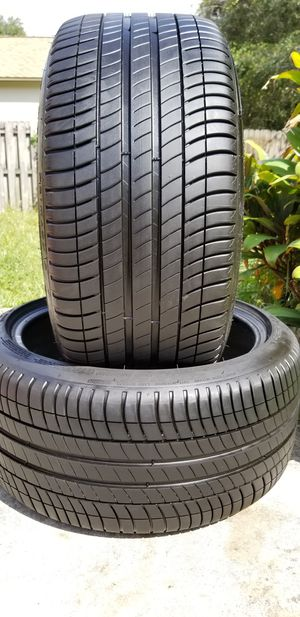 Two 275/35/19 MICHELIN PRIMACY ZP BMW INFINITY for Sale in Tampa, FL