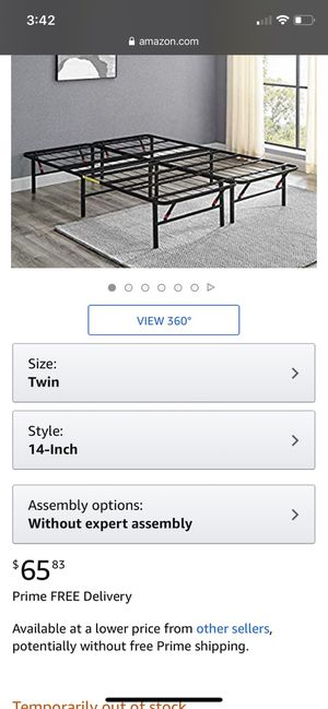 Twin Size bed frame for Sale in Woodstock, GA