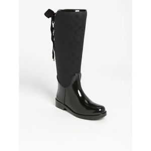 Coach Tristee Tall Rain Boots for Sale in San Leandro, CA