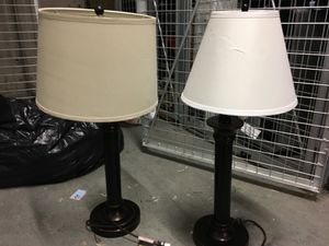 Two lamps for Sale in Seattle, WA