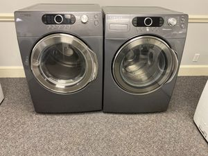 Grey Samsung h/e Front load washer and dryer set for Sale in Mint Hill, NC