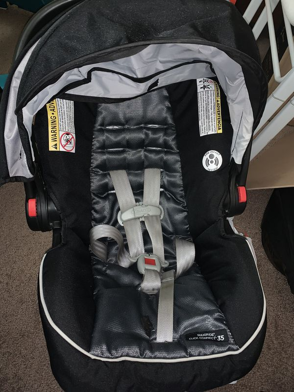 Graco carseat with stroller