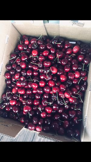Sweet fresh cherries $20 a box for Sale in Riverbank, CA