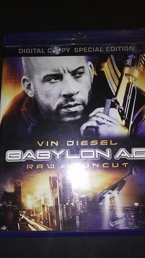 Vin Diesel babylon ad raw and uncut DVD for Sale in Sprouses Corner, VA