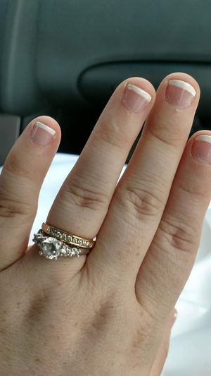 wedding band and engagement ring for Sale in Caledonia, MI