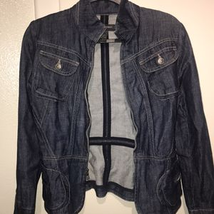 Banana Republic Jean Cargo Jacket for Sale in Hayward, CA