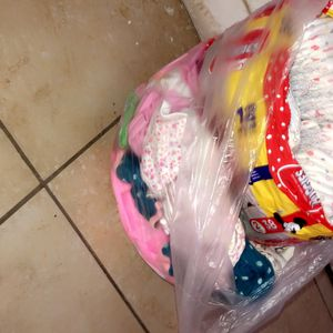 Babygirl Clothes & Diapers for Sale in North Las Vegas, NV