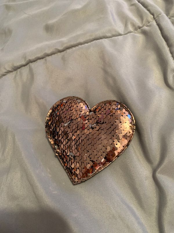 Color changing heart plush