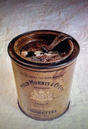 Antique cigarette box for Sale in New York, NY