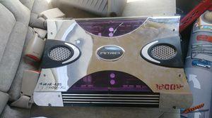 Nitro Amplifier 4ch 1600watts for Sale in Huntington Park, CA