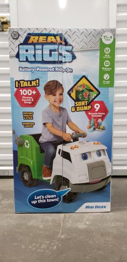 Kid Trax Real Rigs Toddler Recycling Truck for Sale in Waco,  TX