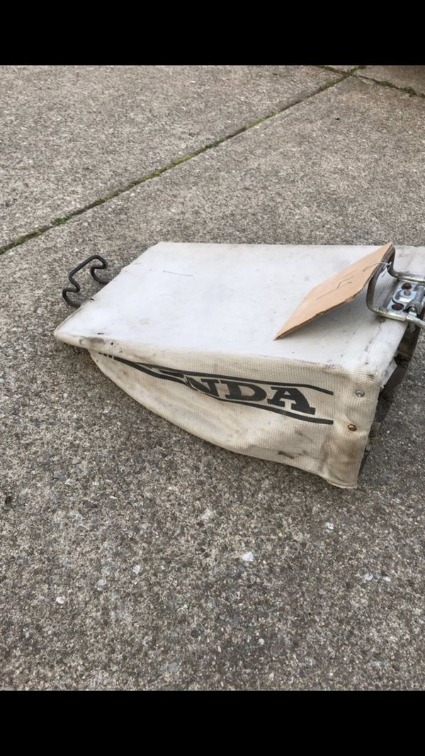 Honda lawnmower bag