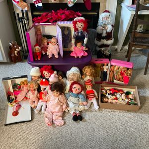 Asst Vintage Dolls and Barbies - $150 for Sale in Fieldsboro, NJ
