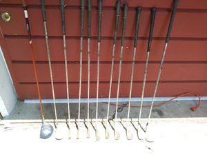 Old beat up golf clubs for Sale in Warren, MI