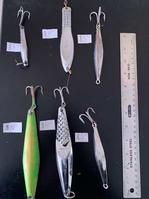 Casting spoon lures for Sale in Fontana, CA