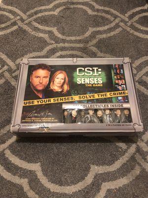 CSI test your senses board game for Sale in Las Vegas, NV