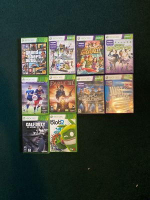 XBOX 360/ Kinect Games for Sale in Riverside, CA