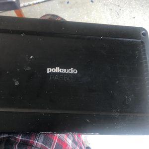 Polkaudio 4Channel amplifier for Sale in Goodyear, AZ