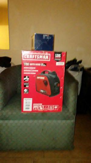 Craftsman Generator 1700 watts for Sale in Montgomery, AL