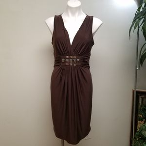 Max and Cleo brown sleeveless dress size medium for Sale in Powder Springs, GA