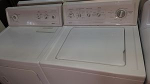 Washer and dryer set gas Kenmore for Sale in Dearborn, MI