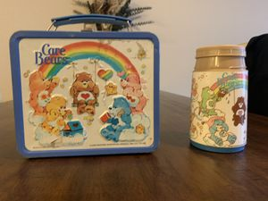 Vintage 1983 Care Bears Aladdin Metal Lunchbox for Sale in Puyallup, WA