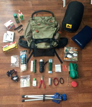 Backpacking/BugOut Survival Bundle Pack!! for Sale in Knightdale, NC
