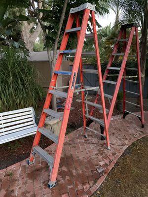 Louisville 8 foot fiberglass ladder for Sale in El Cajon, CA