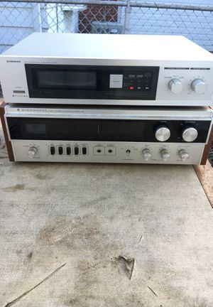 Pioneer reverberation amplifier and Sherwood receiver for Sale in Chicago, IL