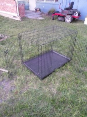 Xl large dog cage used 1 time for Sale in Palmetto, FL