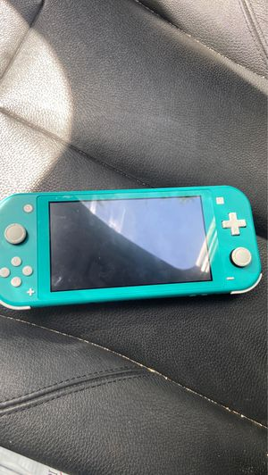 Nintendo switch lite turquoise with Nintendo labo kits for Sale in Leander, TX