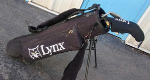 Lynx Black Cat jr golf club set for Sale in Las Vegas, NV