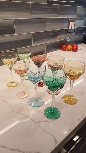 Colored glasses $7 each for Sale in Lodi, CA