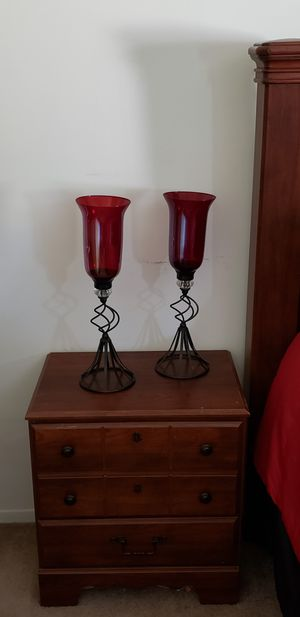 Red candle holders for Sale in Stanton, CA