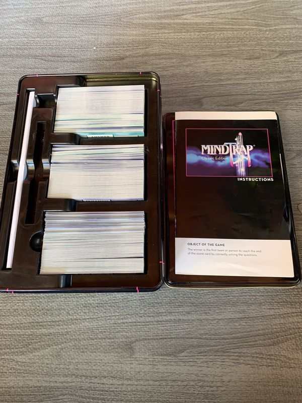 MindTrap Classic Edition Game