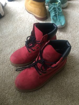 Red Timberlands for Sale in Hyattsville, MD