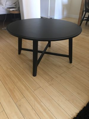 IKEA Kragsta Black Coffee Table for Sale in New York, NY