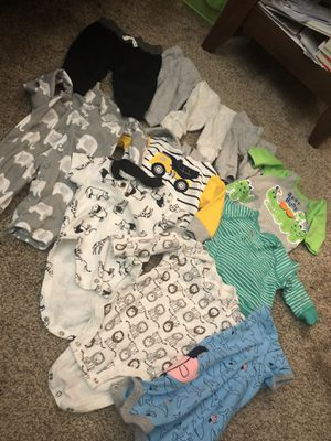 Baby clothes and diapers for Sale in Antioch, CA
