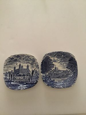 ENOCH WEDGWOOD PORCELAIN ROYAL BRITISH HOMES TRAYS/COASTERS for Sale in Cloudcroft, NM