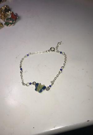 Silver Butterfly Bracelet for Sale in El Segundo, CA