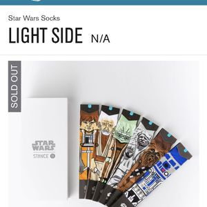 Stance Limited Edition Star Wars Light Side Box Set for Sale in Newberg, OR