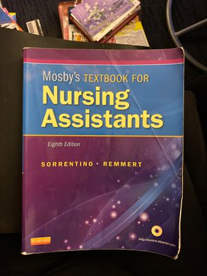 Nursing Assistants Textbook for Sale in San Diego, CA