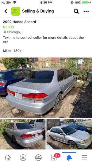 2002 Honda Accord for Sale in Chicago, IL