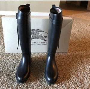Authentic Burberry rain boots for Sale in Portland, OR